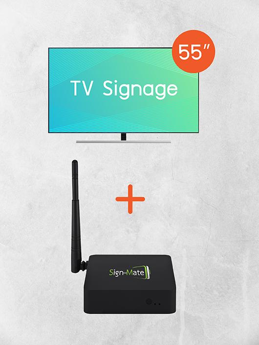 Digital Signage Kiosk ขนาด 55 นิ้ว